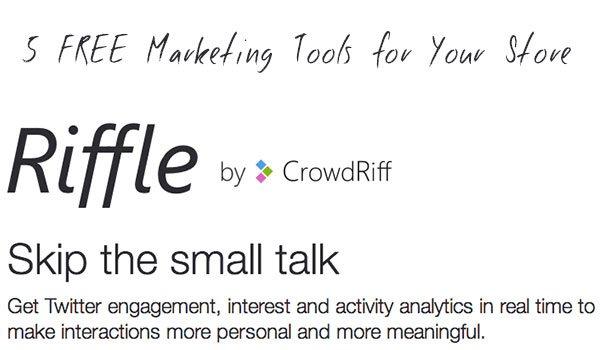free ecommerce tools
