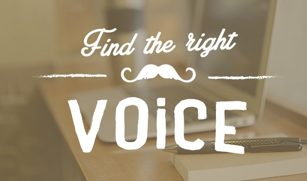right voice content marketing