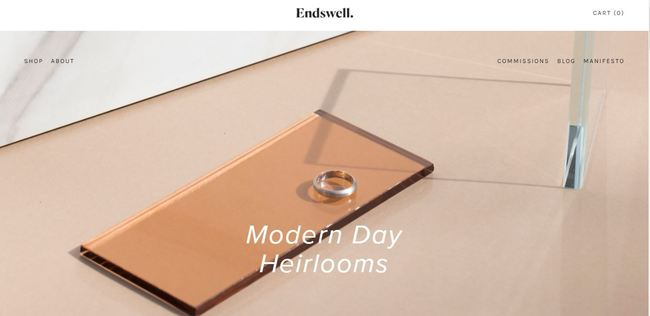 online store - endswell