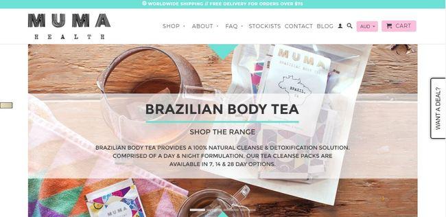 online store - muma health