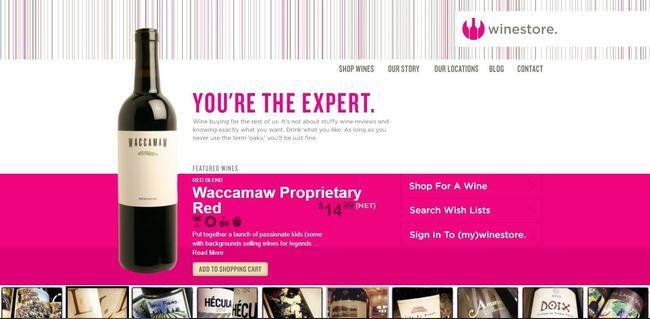 online store - winestore