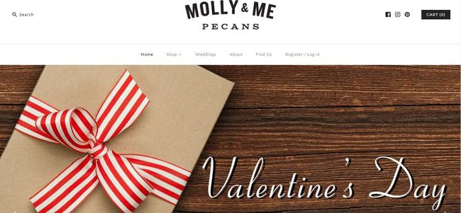 online store - molly and me