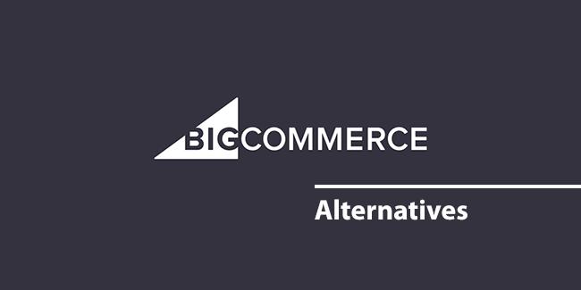 bigcommerce 대안