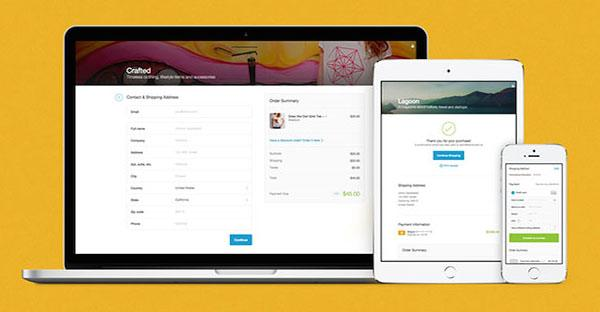 e-commerce checkout ontwerp