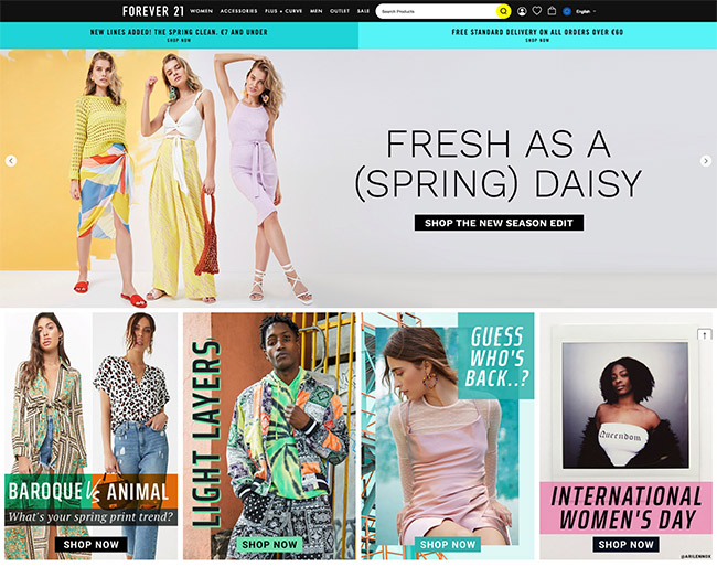 60 Amazing Online Fashion Stores And Their Ux Tricks You Should Steal