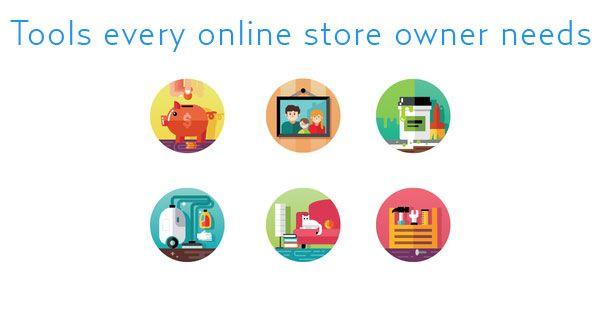 alat yang diperlukan oleh setiap pemilik kedai dalam talian