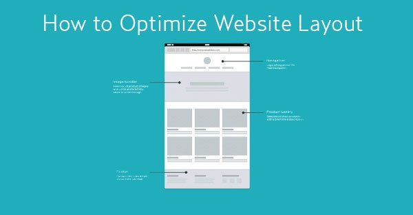 Optimize your website layout