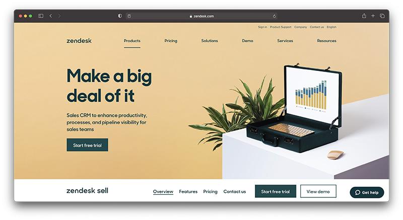 Shopify ecommerce CRM - zendesk