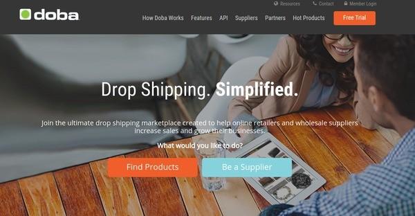doba drop shipping