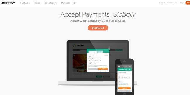 Paypal alternative: 2checkout
