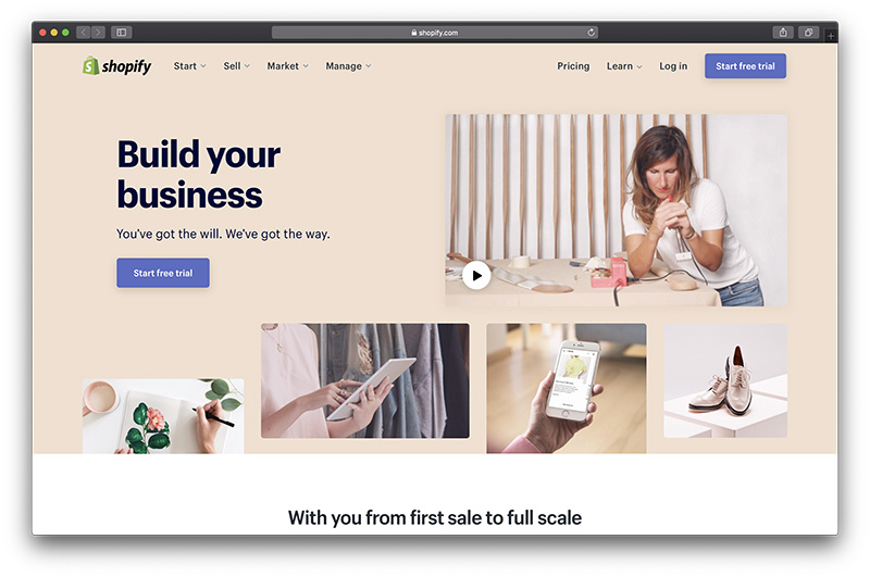 Best Free Ecommerce Website Builders For 2020 Ecommerce Platforms