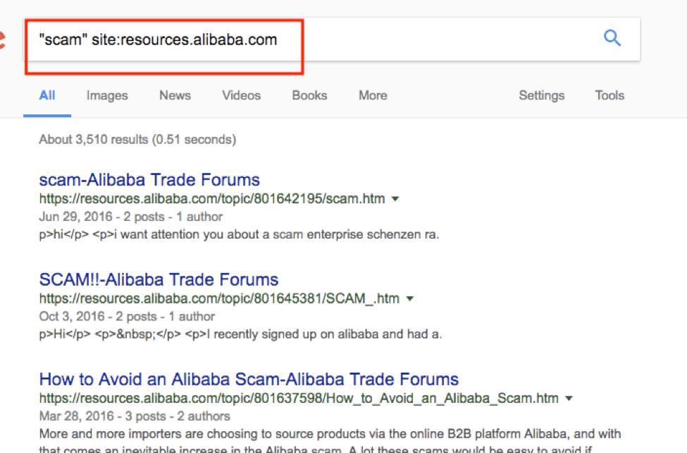 Search Engine Operators