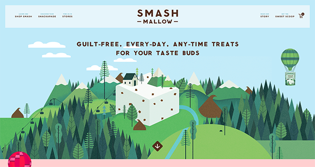 online store - smash mallow