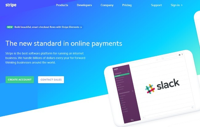 Stripe Review-Homepage