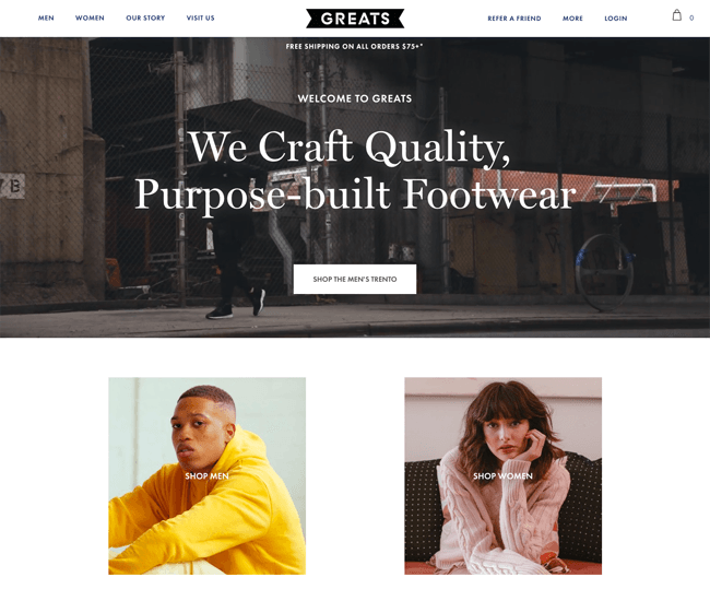 The Best 100 Shopify Stores For Inspiration 11