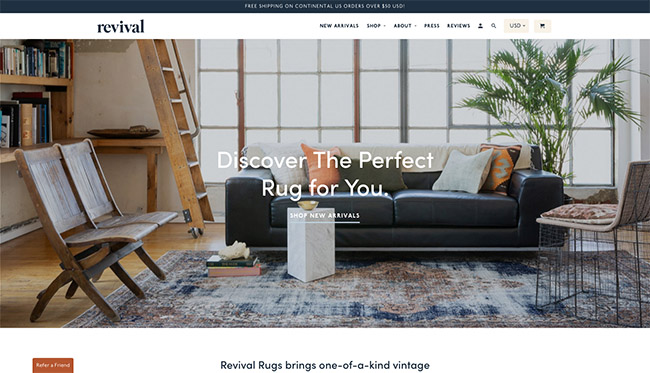 The Best 100 Shopify Stores For Inspiration 9 15