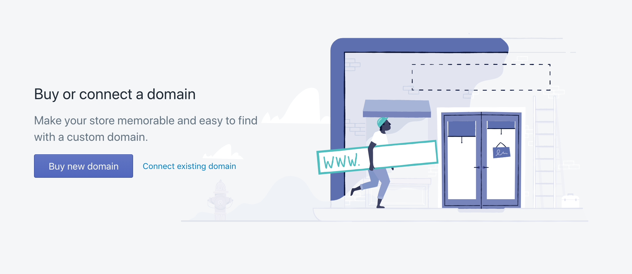 shopify purchase domain