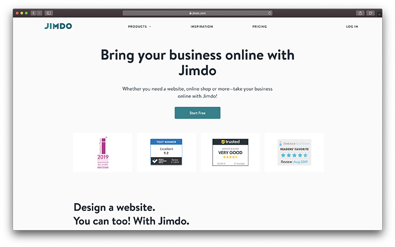 The 14 Best Free Website Builders To Use In 2020 Ecommerce Platforms