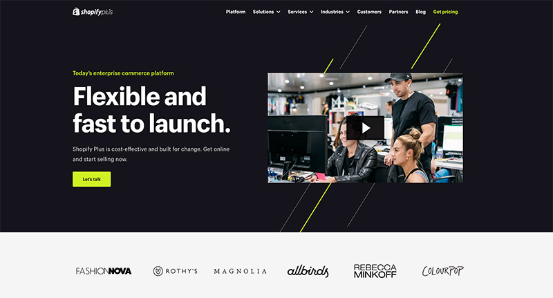 platform e-dagang b2b terbaik - Shopify Lebih