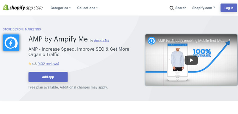 AMP by Ampify Me - Best Shopify SEO Apps