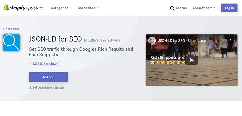 JSON‑LD for SEO - Best Shopify SEO Apps