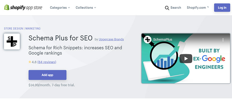 Schema Plus for SEO - Best Shopify SEO Apps