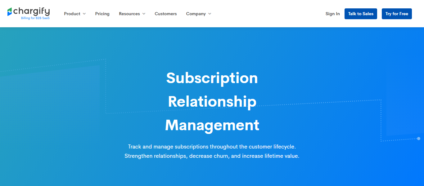 chargify subscription management
