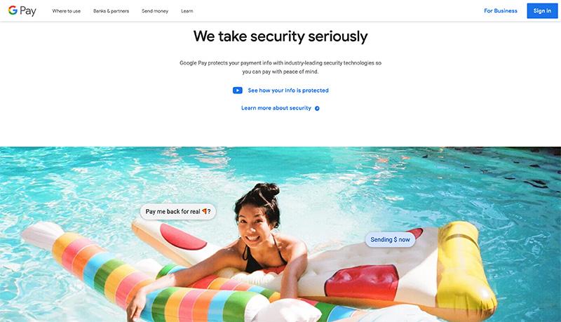 google pay security