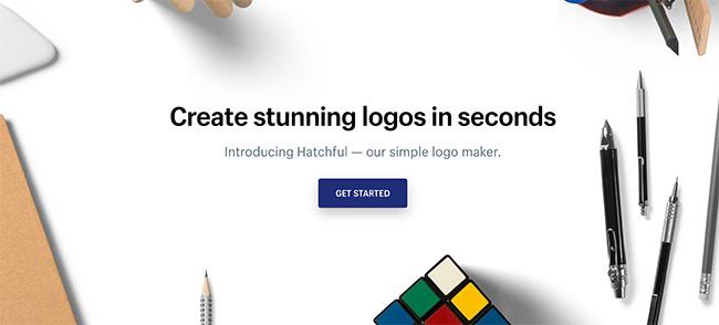 ハッチフル Shopify ロゴクリエーター