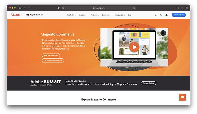 magento commerce - Best Enterprise Ecommerce Platforms