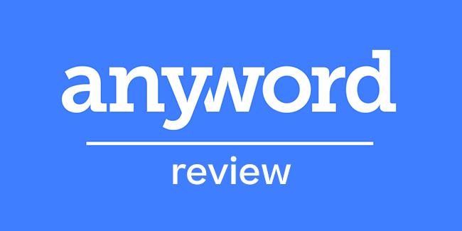 recensione di anyword